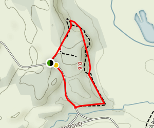 Birklund Gul Yellow Route no.1 Map