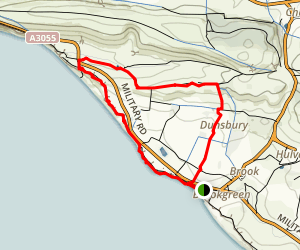 Brook to Compton Walking Tour Map