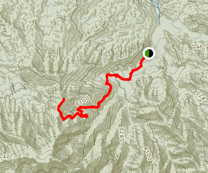 Brushy Mountain Trail Map