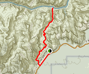 New Hance Trail Map