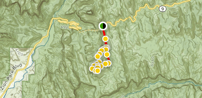 Hepworth and Roof Peaks Trail Map