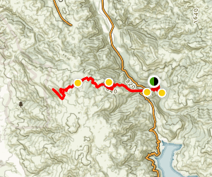 Sunol Wilderness to Mission Peak Map