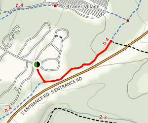 Mather Campground Trail Map