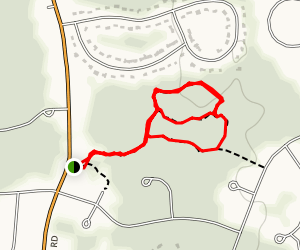 Hayes Nature Park Trail Map