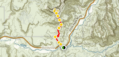 Mount Kinesava Trail Map