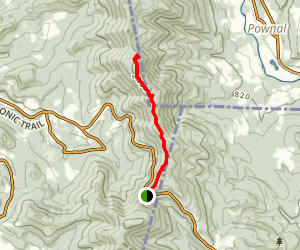 Taconic Crest Trail to White Rocks and Snow Hole Map