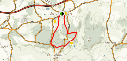 Westerham Loop Map