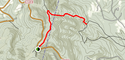 Birch Brook Trail Map