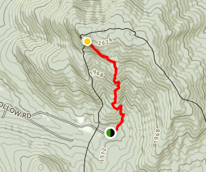 Laraway Mountain Trail Map
