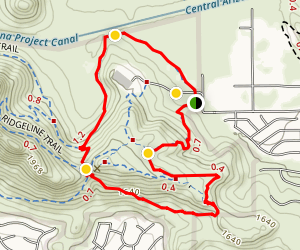 Deem Hills East Trail Map
