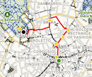 Milan walking tour