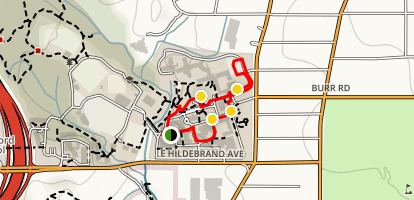 University of the Incarnate Word Loop Map