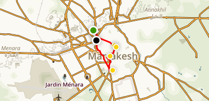 Marrakech with the Kids Map