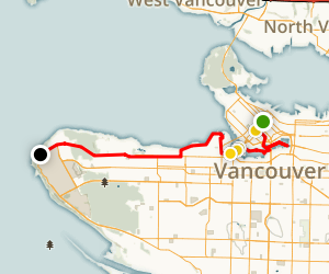 Vancouver Art and Cultural Walking Tour Map