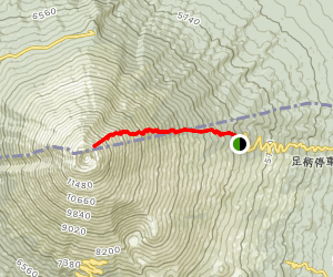Mount Fuji Trail (Subashiri Trail) Map