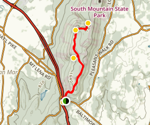 Appalachian Trail: I-40 to Pogo Campground Map