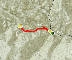 Maple Canyon Arch Trail Map