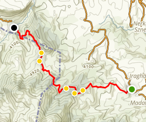 Janapar Trail: Avetaranots to Karintak Map