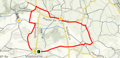Shipbourne Loop Map