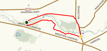 Heath Road - Lyngvejen Map