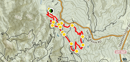 Green Pond Loop Trail Map