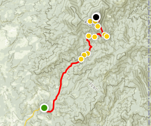 Drive to the Top of Mount Spokane Map