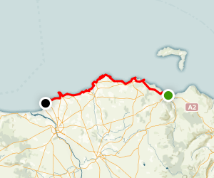 Ballycastle to Portsteward - Giant's Causeway Map