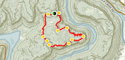 Pot Point Loop Map
