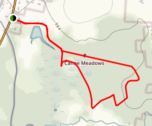 Canoe Meadows Wildlife Sanctuary Trail Map