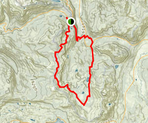 Tahoe Rim Trail (TRT): Big Meadow to Echo Summit loop Map