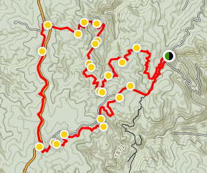 Rampart Range Trail Loop Map