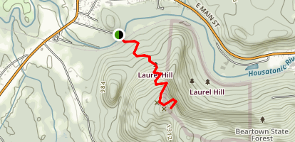 Laura's Tower Trail Map