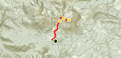 Mount Peale Trail Map