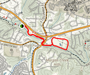 Morgan Creek Trail Map