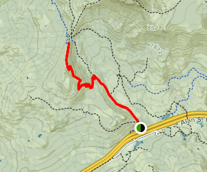 Andesite Peak Trail Map