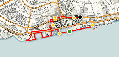 Lisbon Belém Tour Map