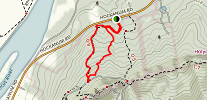Mount Holyoke Trail Map