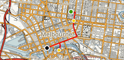 Melbourne for Families With Young Children Map