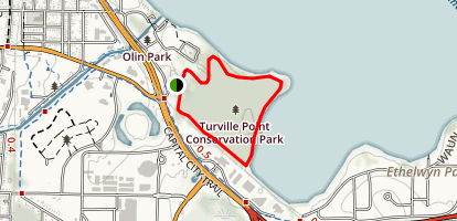 Turville Point Conservation Park Map