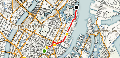 City Sights of Copenhagen Map