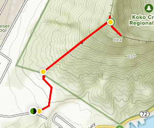 Koko Head Crater Trail Map