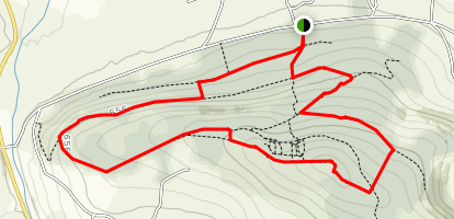 Mount Hillary Loop Map