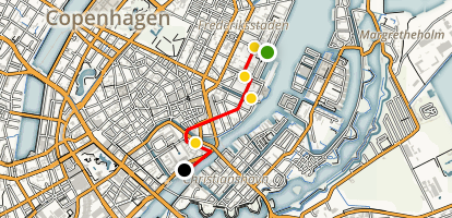 Copenhagen's Architecture - from Past to Present Map