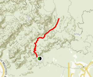 Cougar Canyon Maus Trail Map