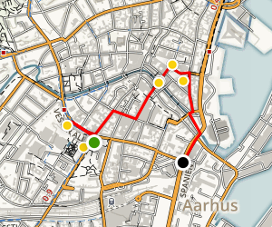The Family Tour in Aarhus Map