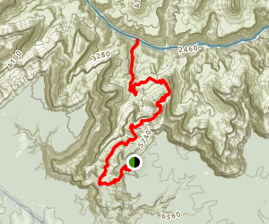Hermit Trail  Map