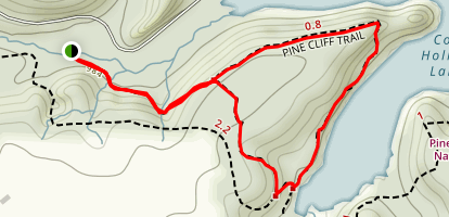 Pine Cliff Trail Map