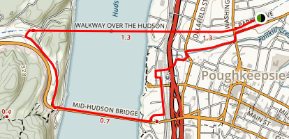 Walkway Over the Hudson State Historic Park and Loop Trail Map