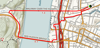 Walkway Over the Hudson State Historic Park Map