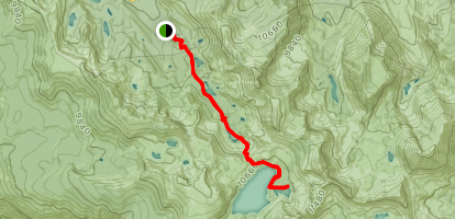 Pika Lake Trail Map